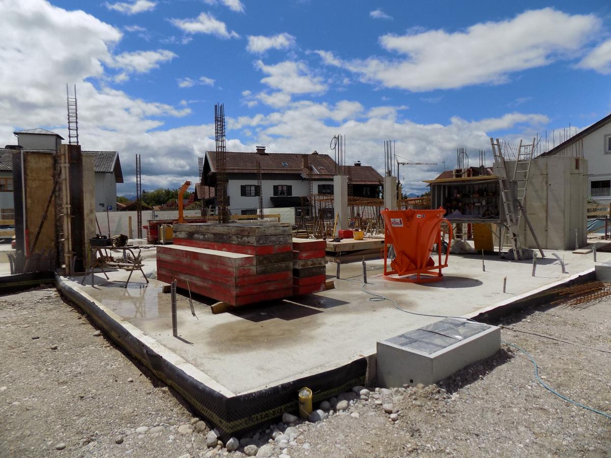 Aufwändige Umgestaltung Dorfzentrum Wonneberg