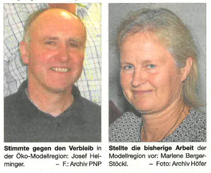 Wonneberg bleibt in der Ökomodellregion Waginger See-Rupertiwinkel