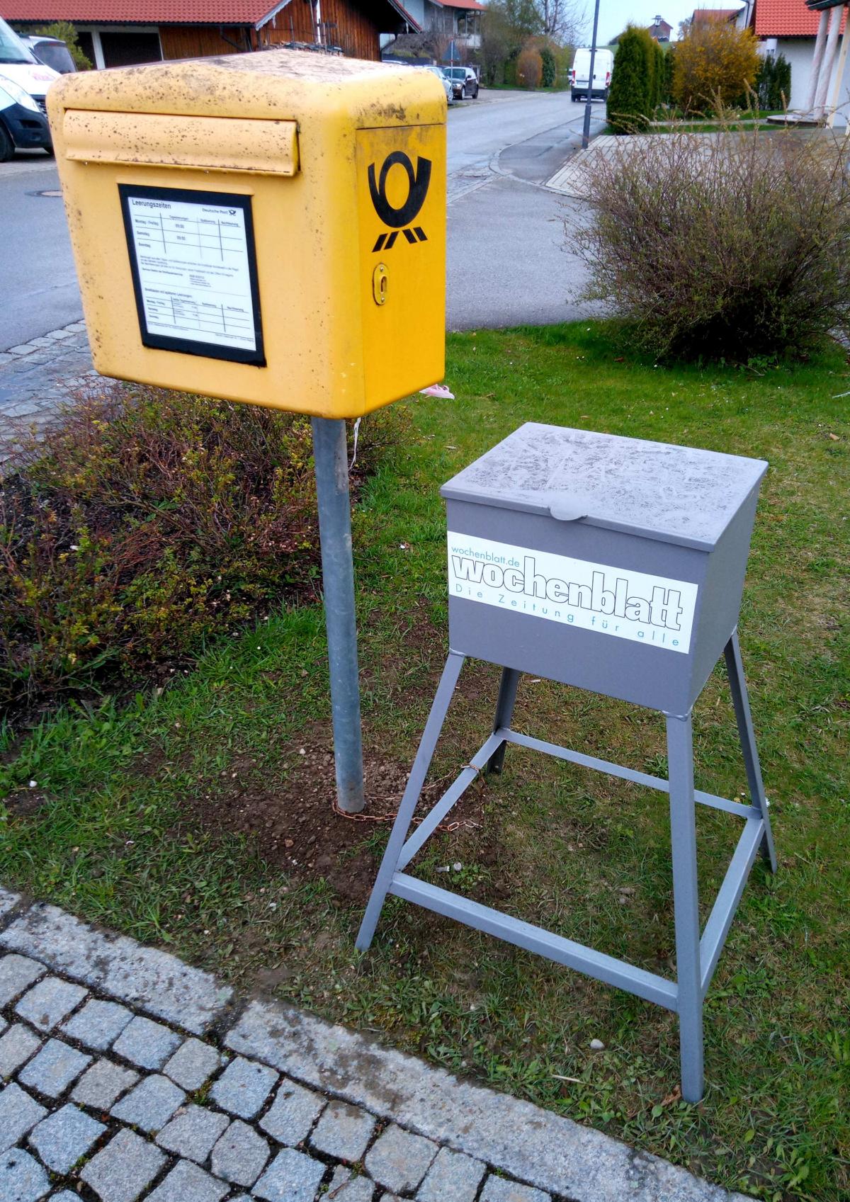 Neue Poststelle in Wonneberg?