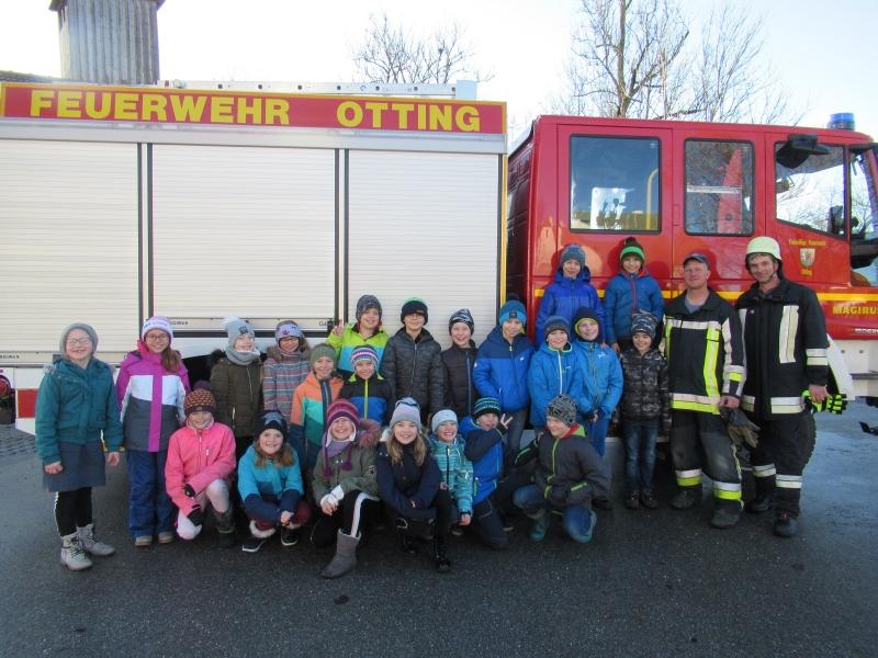 Besuch bei der Ottinger Feuerwehr