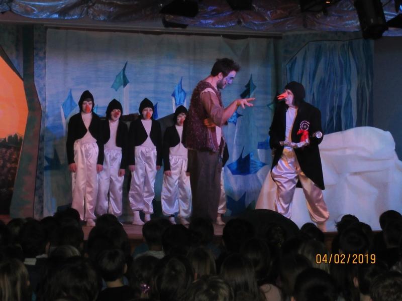 Theaterbesuch in Otting - Die kleine Winterhexe