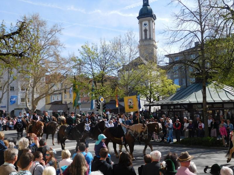 Georgi-Ritt in Traunstein am 22. April 2019
