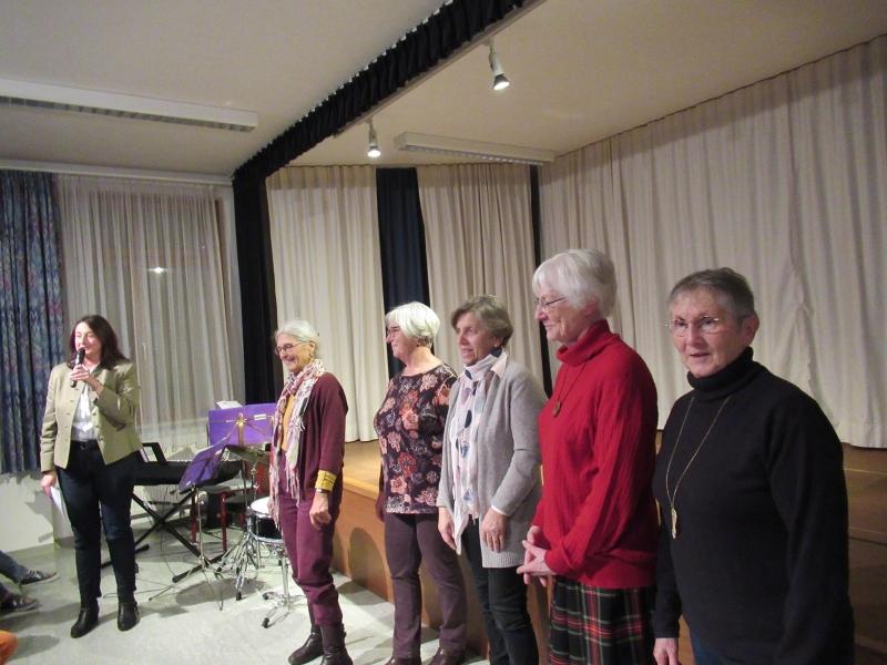 Weihnachtsfeier in St. Leonhard