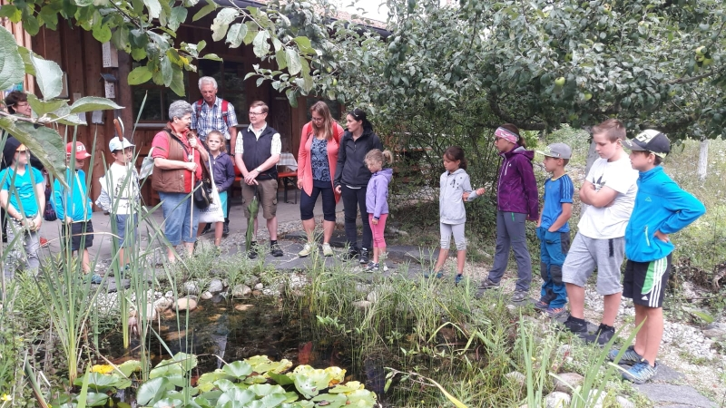 Interessanter Besuch im LBV Umweltgarten