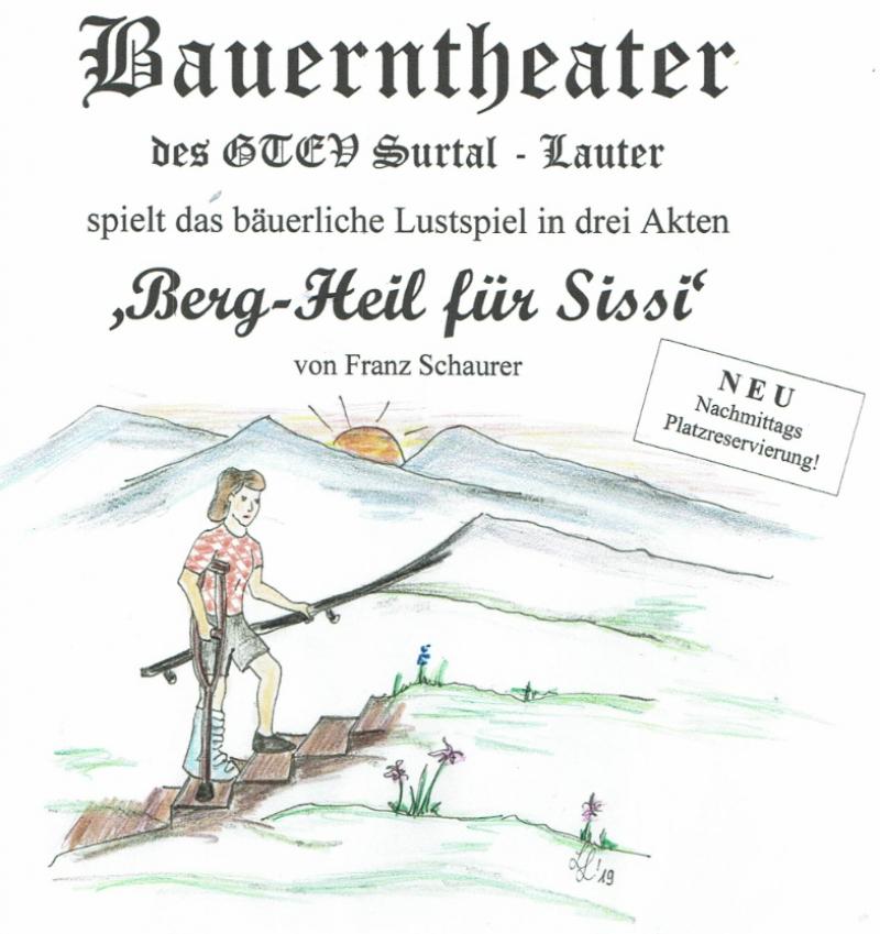 """Bauerntheater """"Berg-Heil für Sissi"""""""