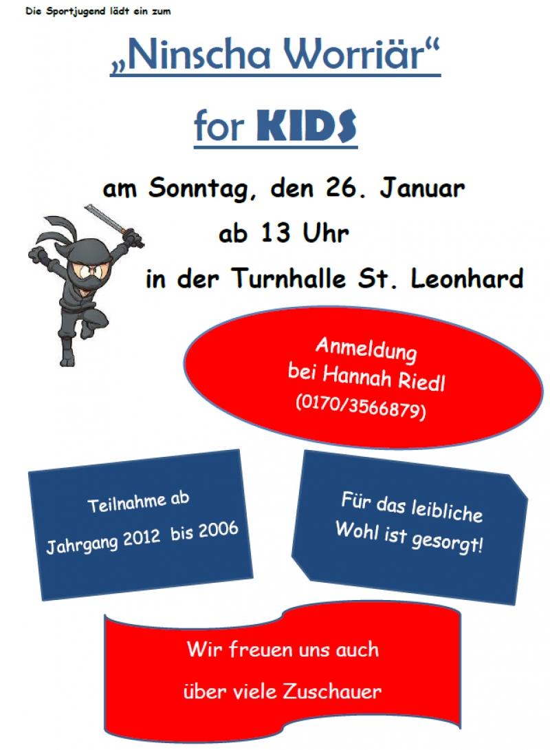 """Ninscha Worriär"" for KIDS"