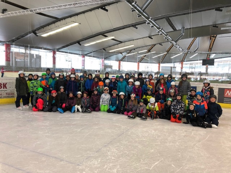 Eislauftag in Inzell