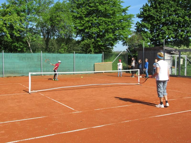 Tennis-Schnupperstunde in Otting