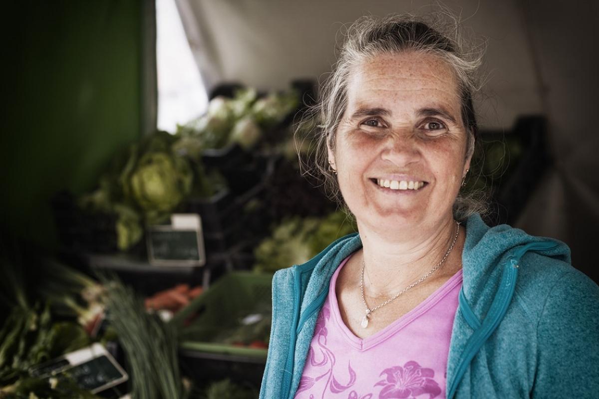 Gemüse, Getreide und Kartoffeln in Bioland-Qualität - Hedwig Huber