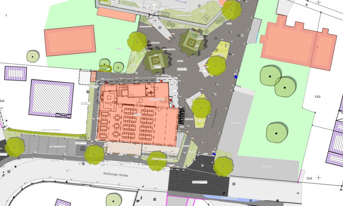 Neubau Bürgerhaus Wonneberg - Umgestaltung Dorfzentrum