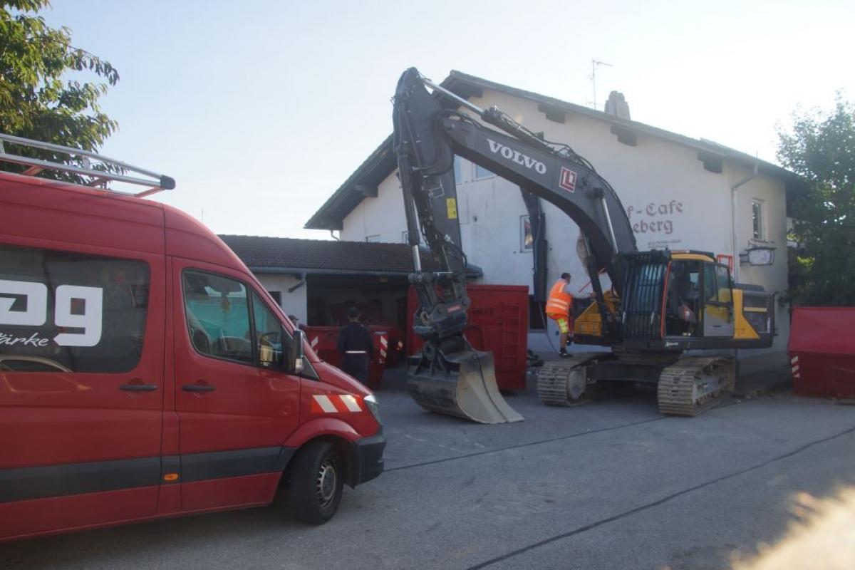 Gasthof Parzinger wird abgerissen