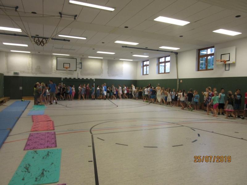 2. Schulversammlung am vorletzten Schultag