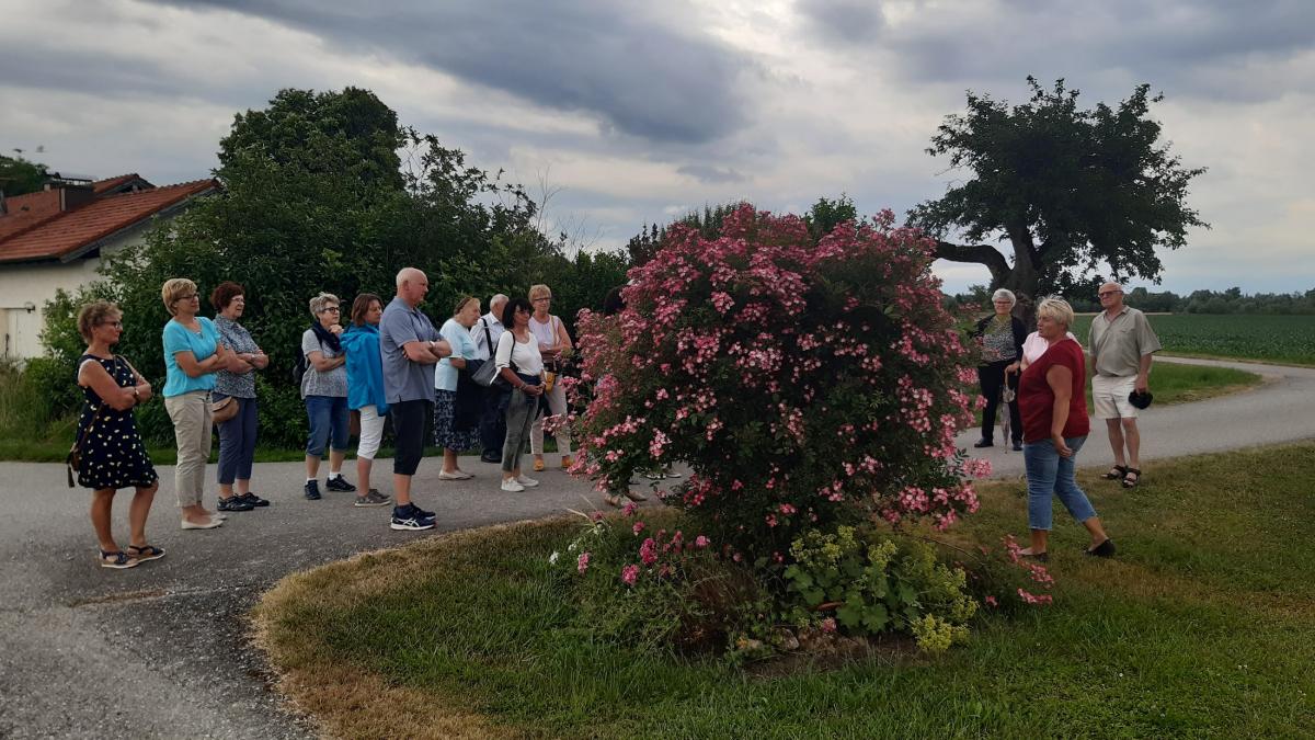 Besuch bei der Gartenbäuerin Gerlinde Berger in Fridolfing