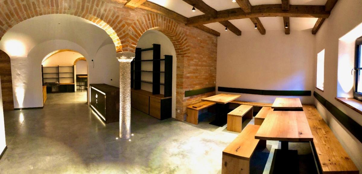 Die neuen Räume der Schaubrennerei Gramminger sind fast fertig.