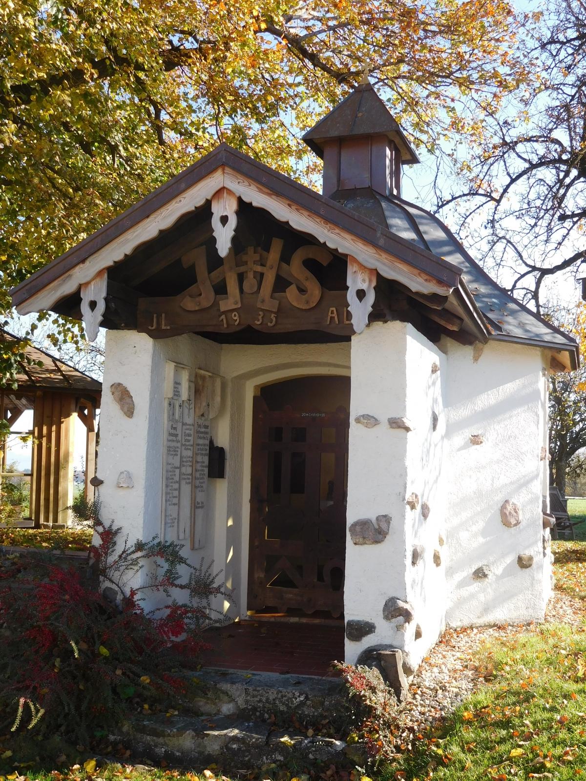 Die Grafenkapelle in Köpfelsberg