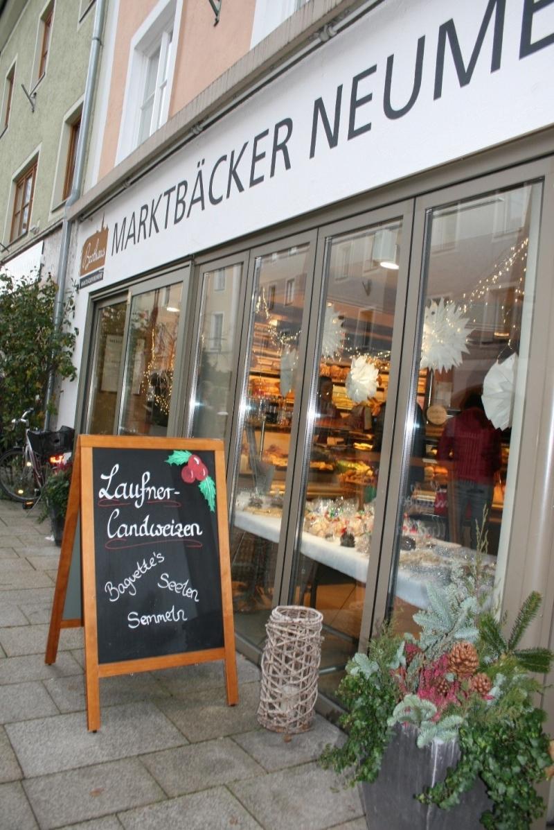 Backwaren aus Laufener Landweizen sind dank der Ökomodellregion in Teisendorf erhältlich