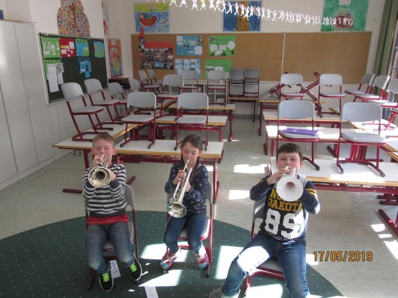 Wir lernen Blasinstrumente kennen
