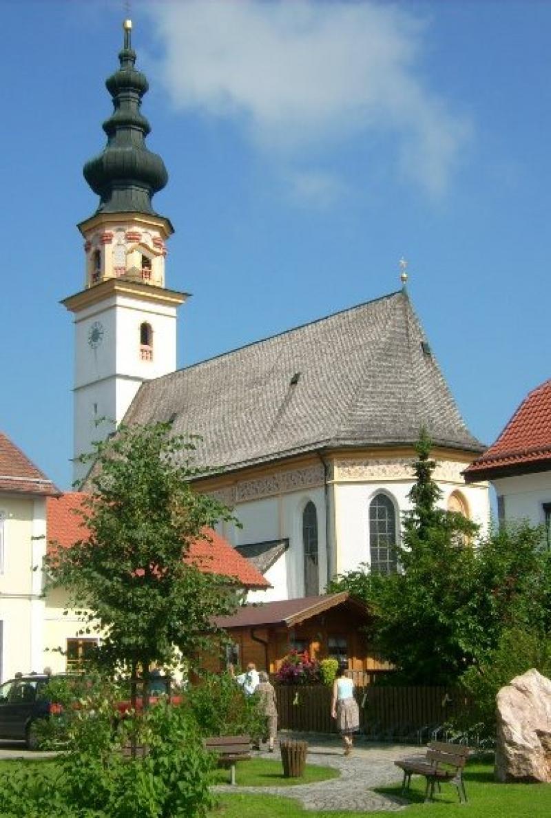 Wallfahrtskirche St. Leonhard am Wonneberg (Foto: Wolff)